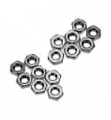 Art. No.  N-02  2mm Nuts $1.50 for 50