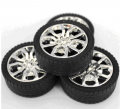 Art. No. WH-107  45*2.5 High quality rubber wheel    $1.50 for 2