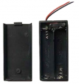 Art. No. BH-504  Two 1.5V AA Battery holder with cover & switch