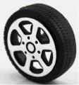 ART. No. WH-102  Low Cost 20mm Plastic Wheels $1.00 for 8