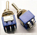 Art. No. SW-109 Toggle Switch, Double Pole Double Throw DPDT $1.80 for 2