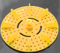 Art. No. WH-109  75mm plastic wheel/propeller    $1.20 for 2