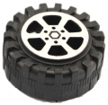 ART. No. WH-104  30mm Plastic Wheels for small cars   $1.00 for 6