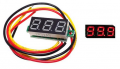 Art. No. MT-103  Red 0.36 Inch 0V-100V Mini Digital Voltmeter (Reverse polarity protection)
