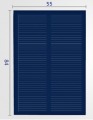 Art. No. SC-305  5.5V 100ma solar cell