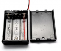 Art. No. BH-505 Three 1.5V AA battery box with cover & switch