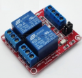 ART. No. RL-02  2 Channel Opto-Isolated Relay with HI/LOW input trigger selection
